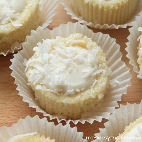 Coconut-Pineapple Cupcakes